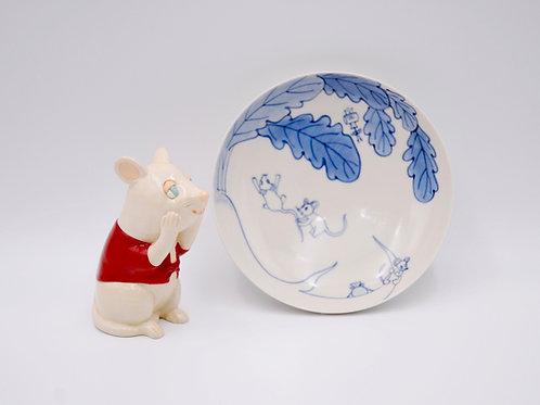 大根とねずみ(Radish and mouse)