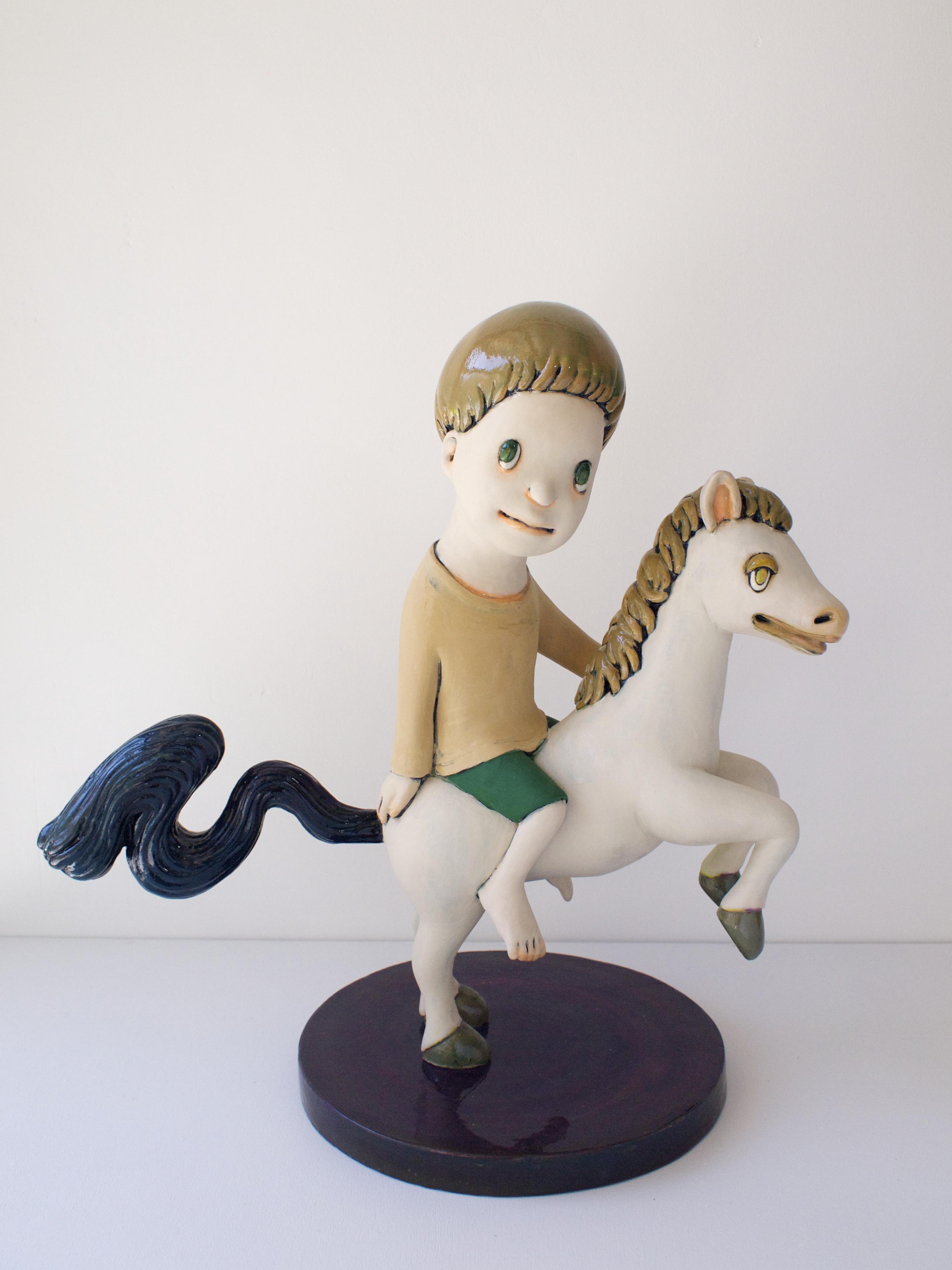 馬に乗ったわたし
