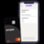 Purple Mastercard and Purple Bank App