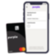 Purple Mastercard and Purple Bank App