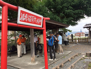 金谷宿研修会