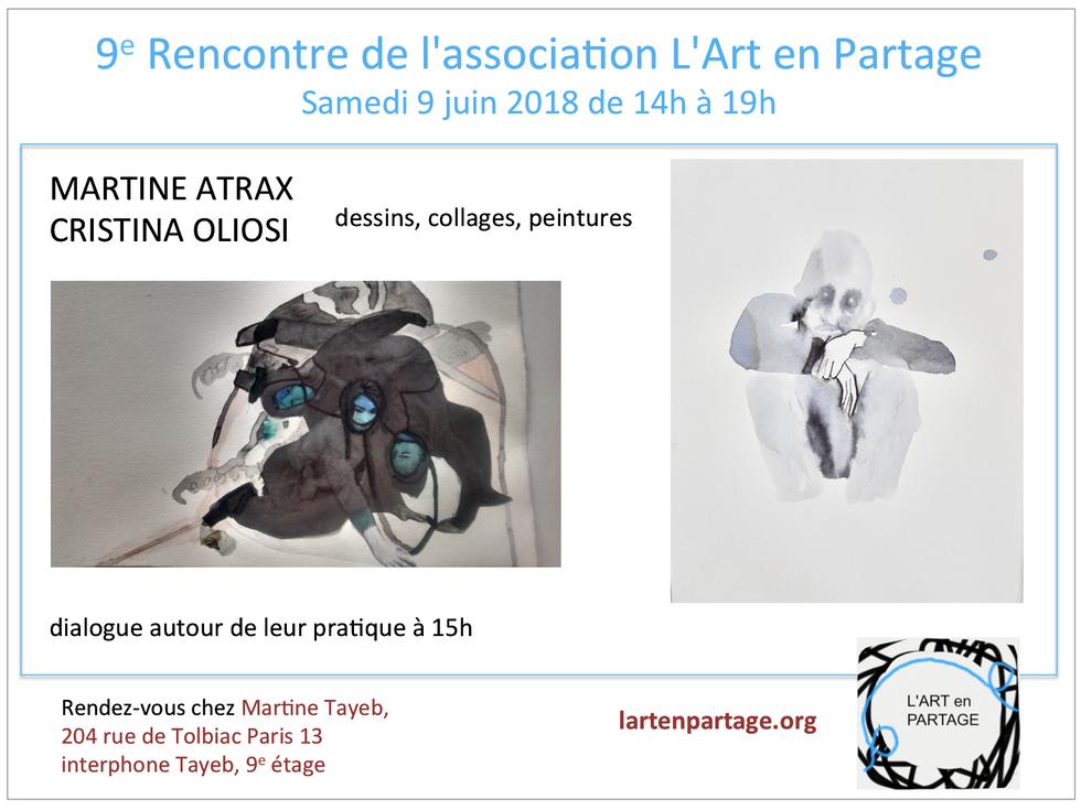 invitation l'Art en partage