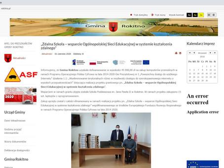 """""""Zdalna Szkoła – wsparcie Ogólnopolskiej Sieci Edukacyjnej w systemie kształcenia zdalnego"""""""