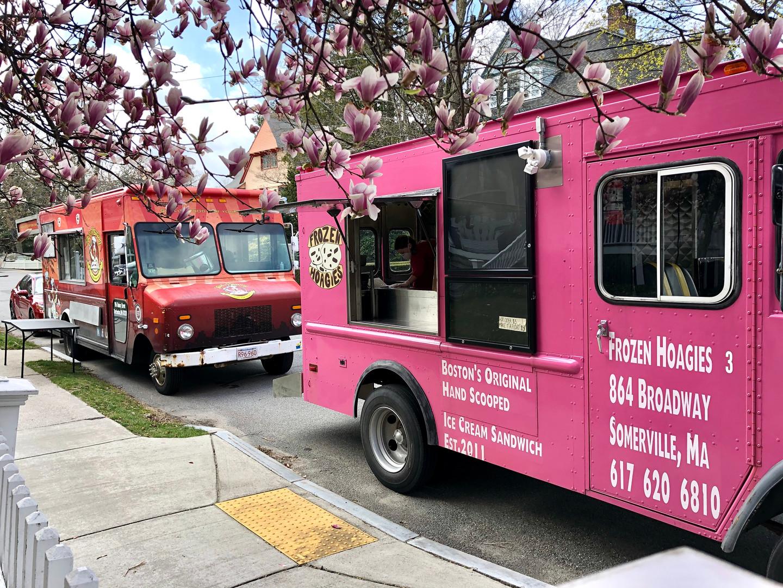Frozen Hoagies and Teri-Yummy Food Truck