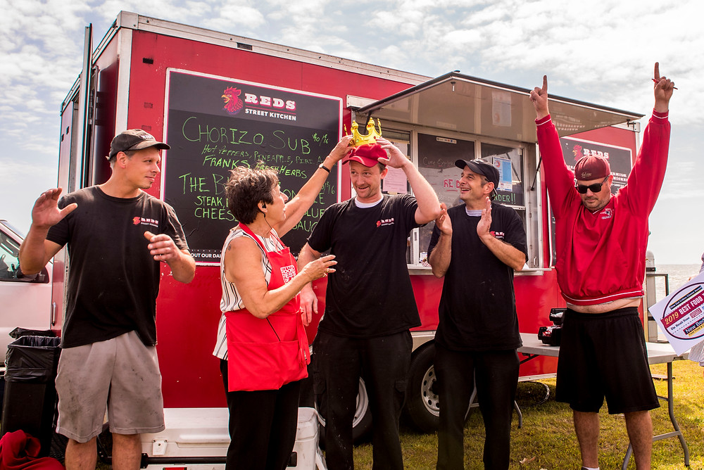 Dine-Out Critics Choice Award Best Food Truck Red's