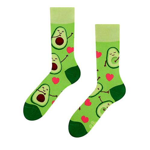 Good Mood Socks - Avocado Love