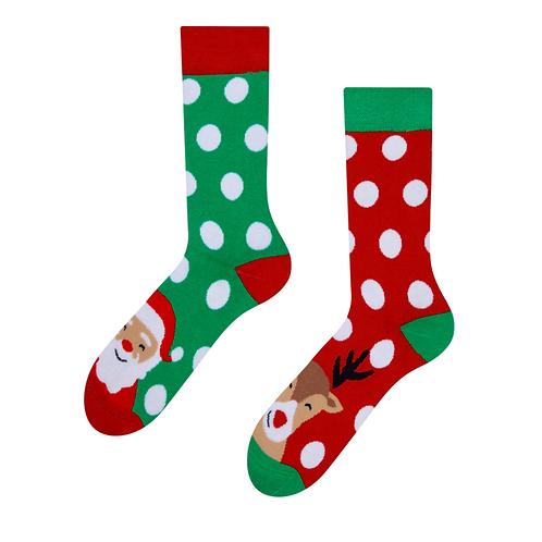 Mood Socks Warm - Santa & Rudolph
