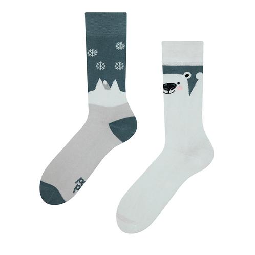 Mood Socks Warm - Polar Bear