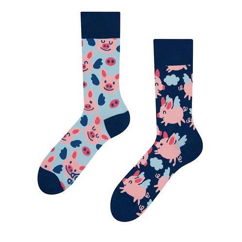Good Mood Socks - Flying Pigs