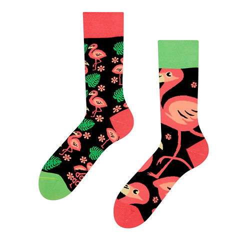 GOOD MOOD SOCKS FLAMINGO