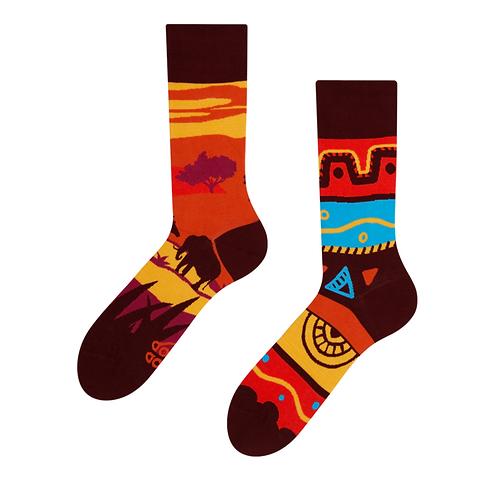 Good Mood Socks - Africa