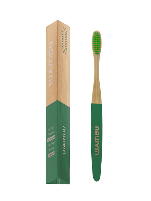 WAMBU TOOTHBRUSH GREEN