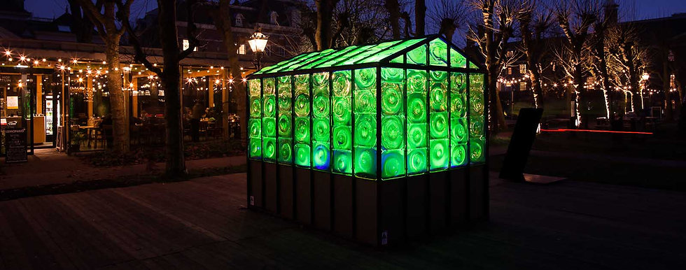 Amsterdam Light Festival 2016 - Green Ho