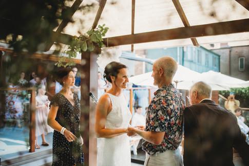 Manly wedding