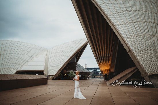Opera house wedding