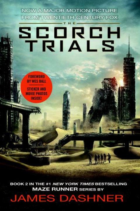 The Scorch Trials (Maze Runner, Bk. 2) w/Fan Sticker