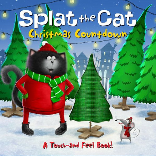 Splat The Cat Christmas Countdown
