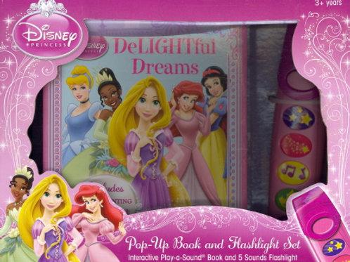 Disney Princess Pop-up Book & Flashlight Set
