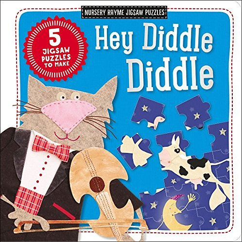 Hey Diddle Diddle (Nursery Rhyme Jigsaw Puzzles)