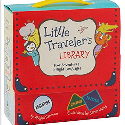 Little Travelers Library: 4 Adventures in 8 Languages