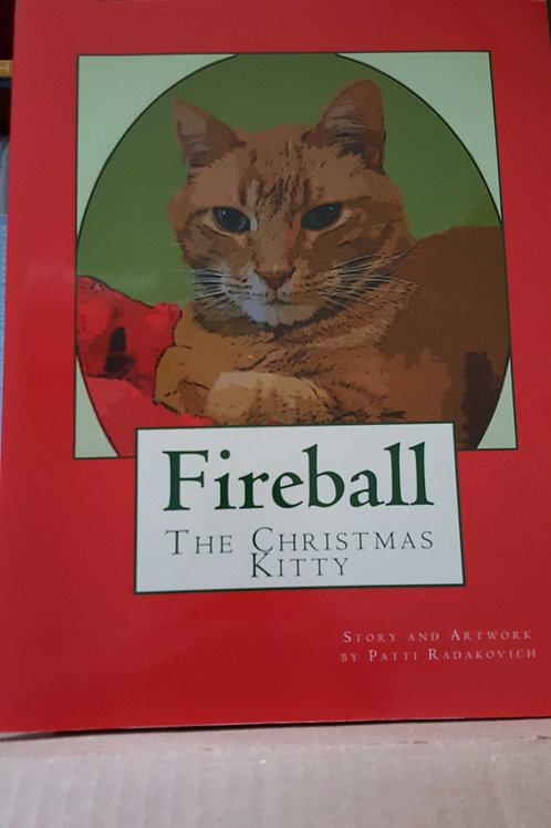 Fireball The Christmas Kitty