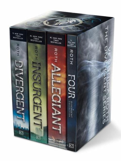 The Divergent Series Box Set (Divergent/Insurgent/Allegiant/Four)