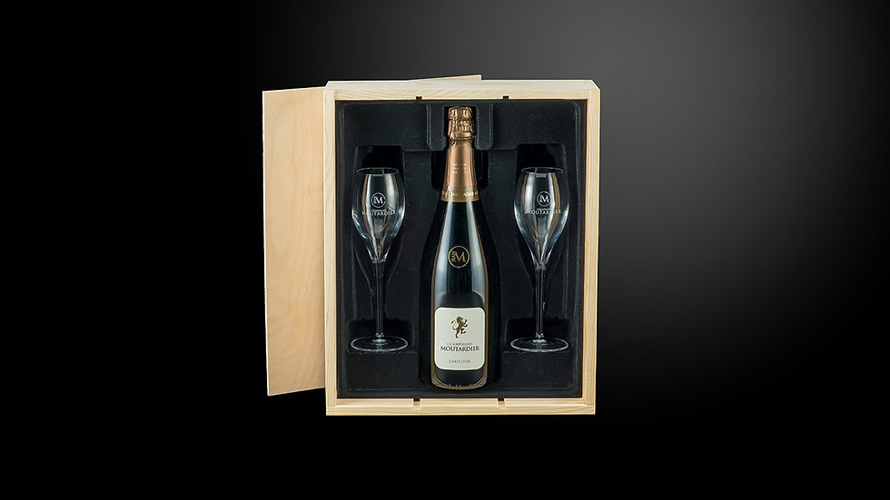 Luxe giftbox - Moutardier Brut