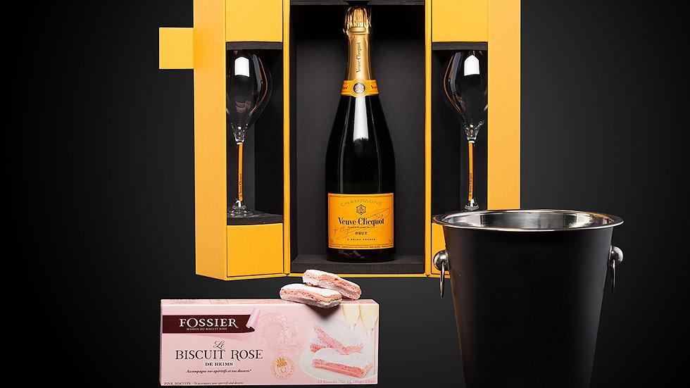 """Cadeaupakket """"Luxe"""" Veuve Clicquot Ponsardin Brut"""