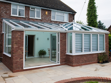 Glazed Roof Conservatory Extension