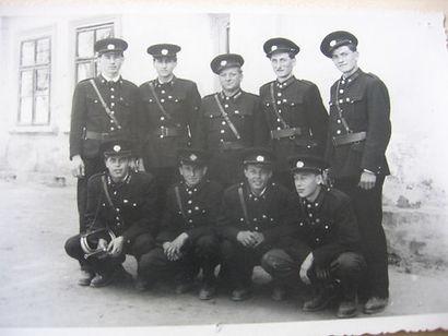 historický obrázek členů SDH Nesvačilka