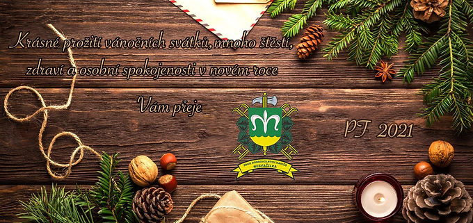 Krásné Vánoce a šťastný nový rok 2021