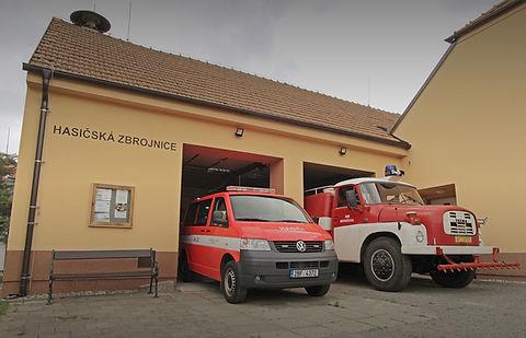 Hasičská zbrojnice Jednotky sboru dobrovolných hasičů v Nesvačilce