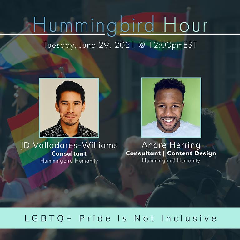 LGBTQ+ Pride Is Not Inclusive