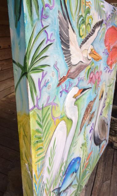 Pelican Dreams Detail