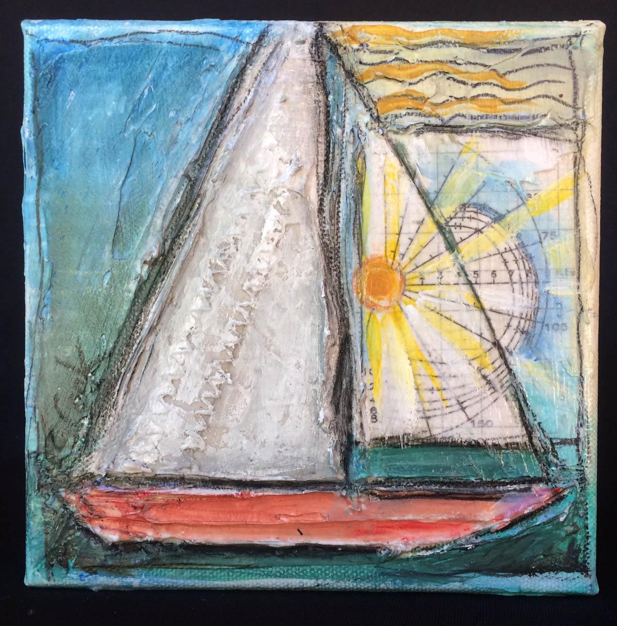 6x6x2 Sun Sail
