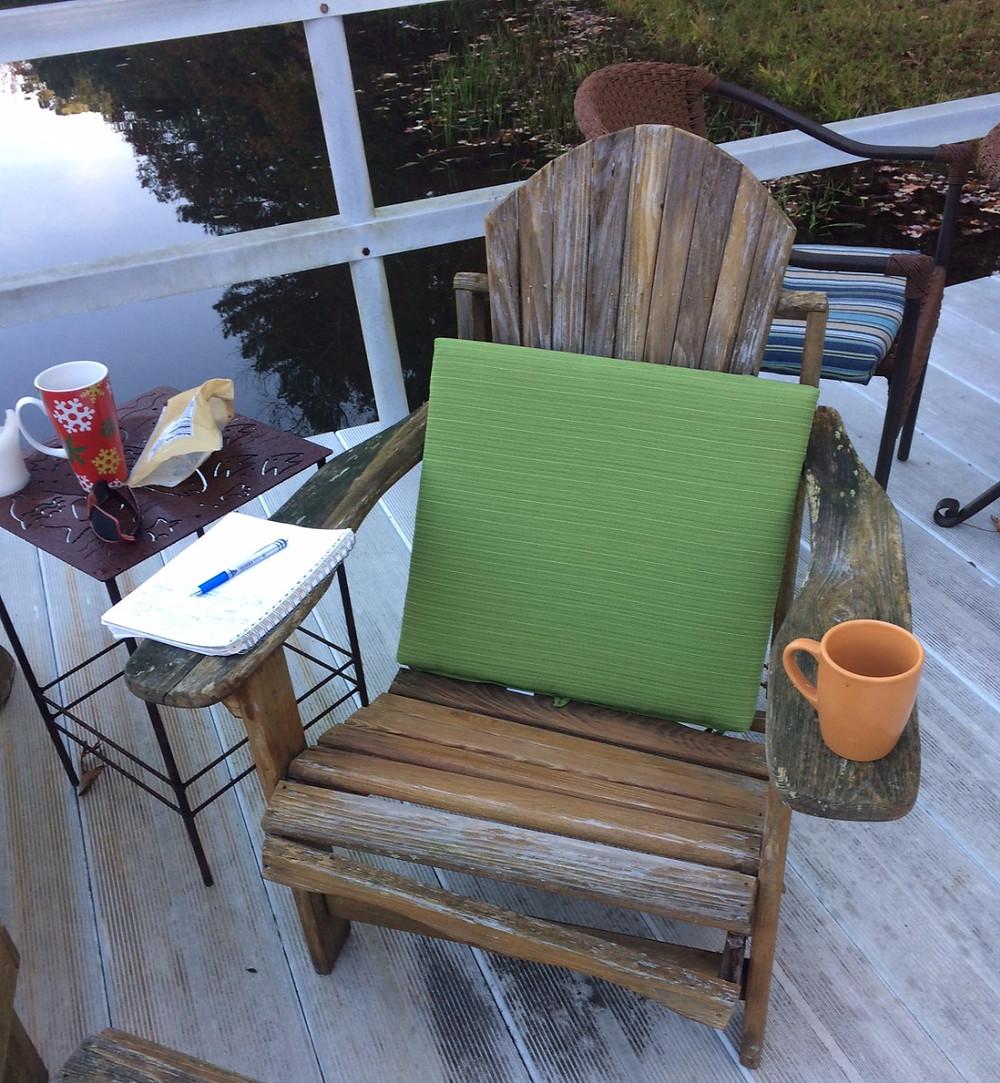Coffee on the Dock