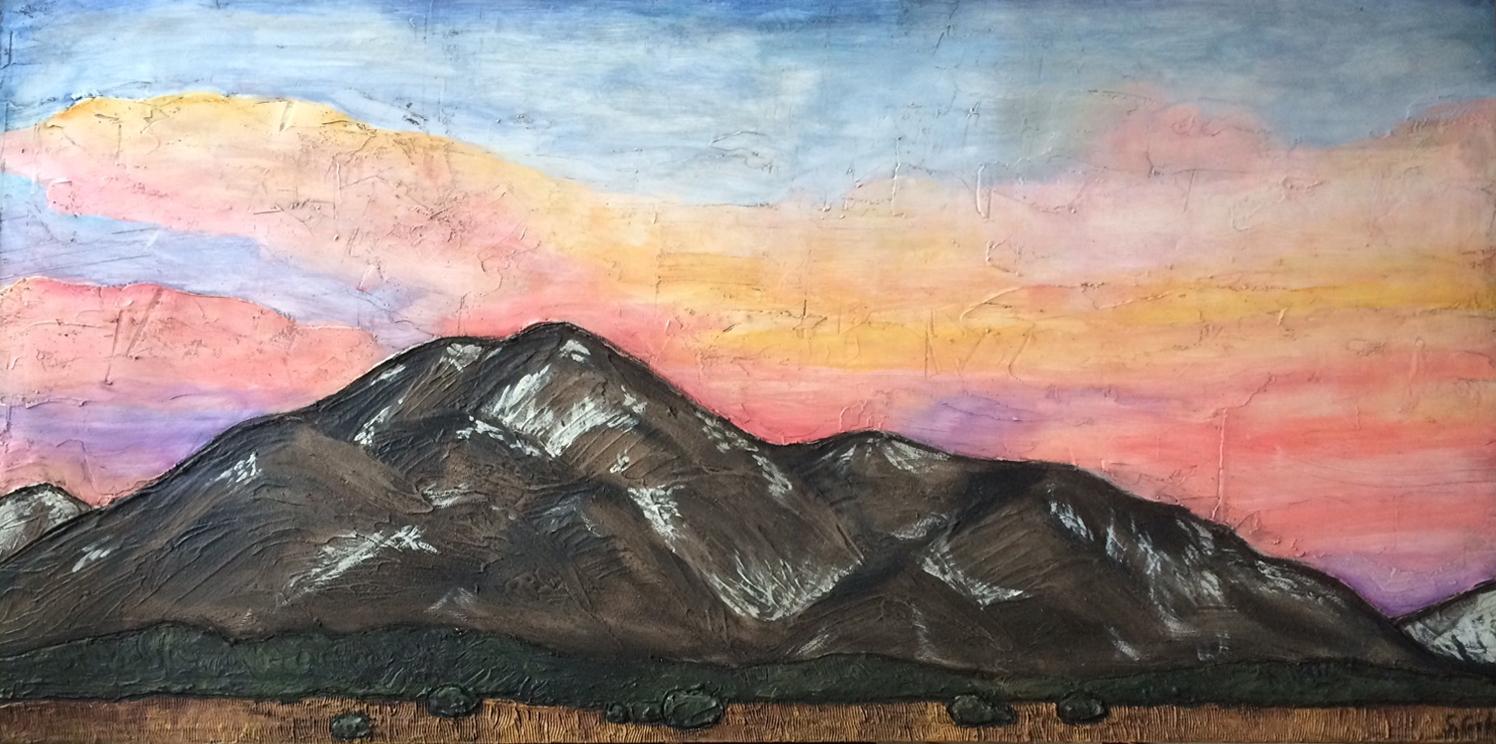 Cameron's Mountain 60x30