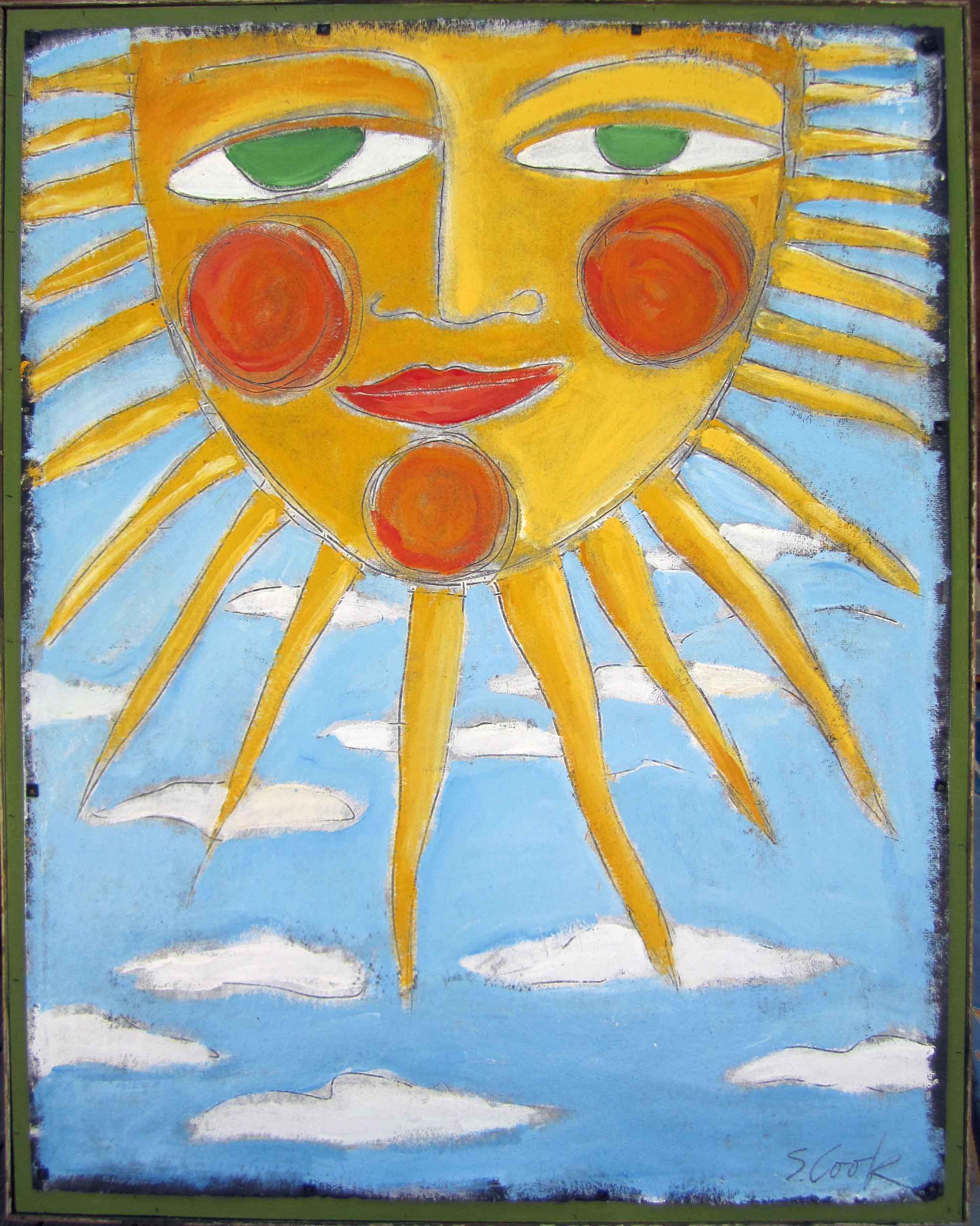 Big Sun 38x48