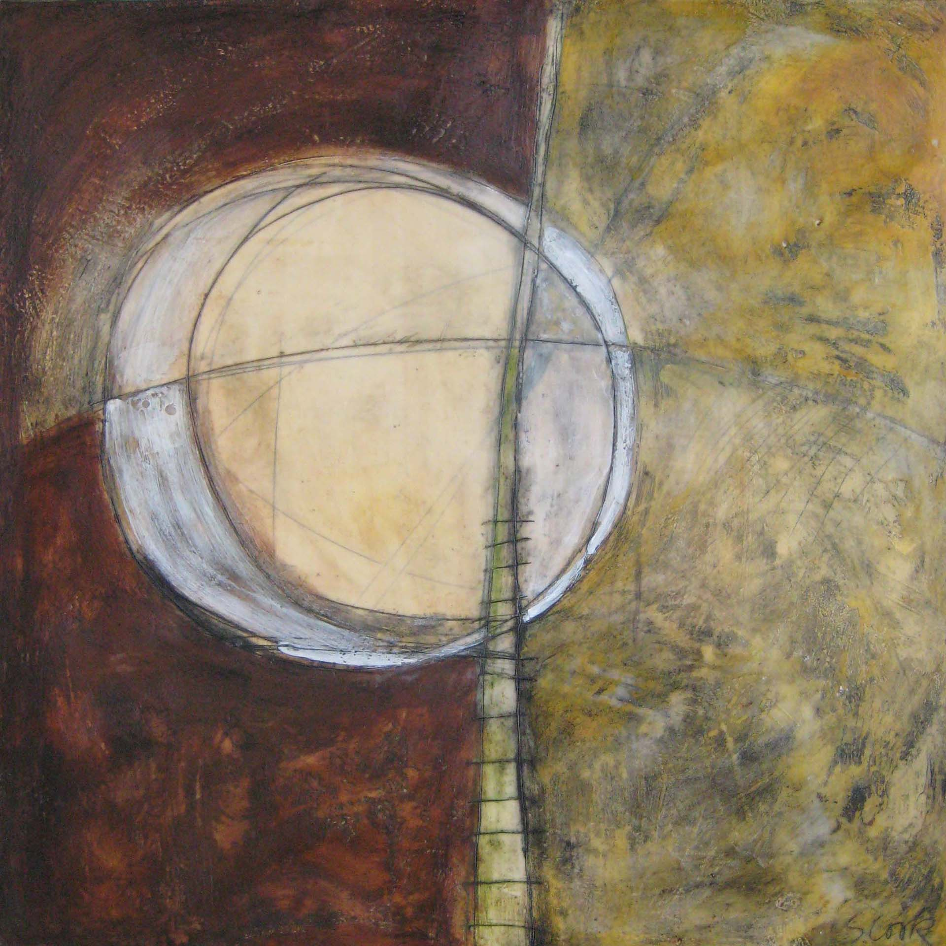 Moon with Ladder 48x48