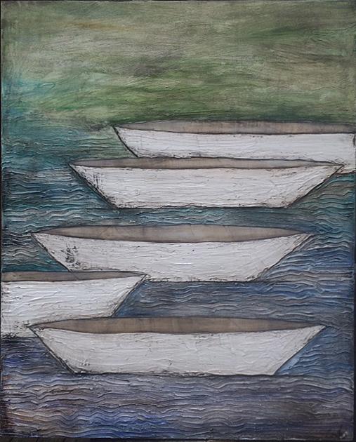 4 Boats 60x48x2