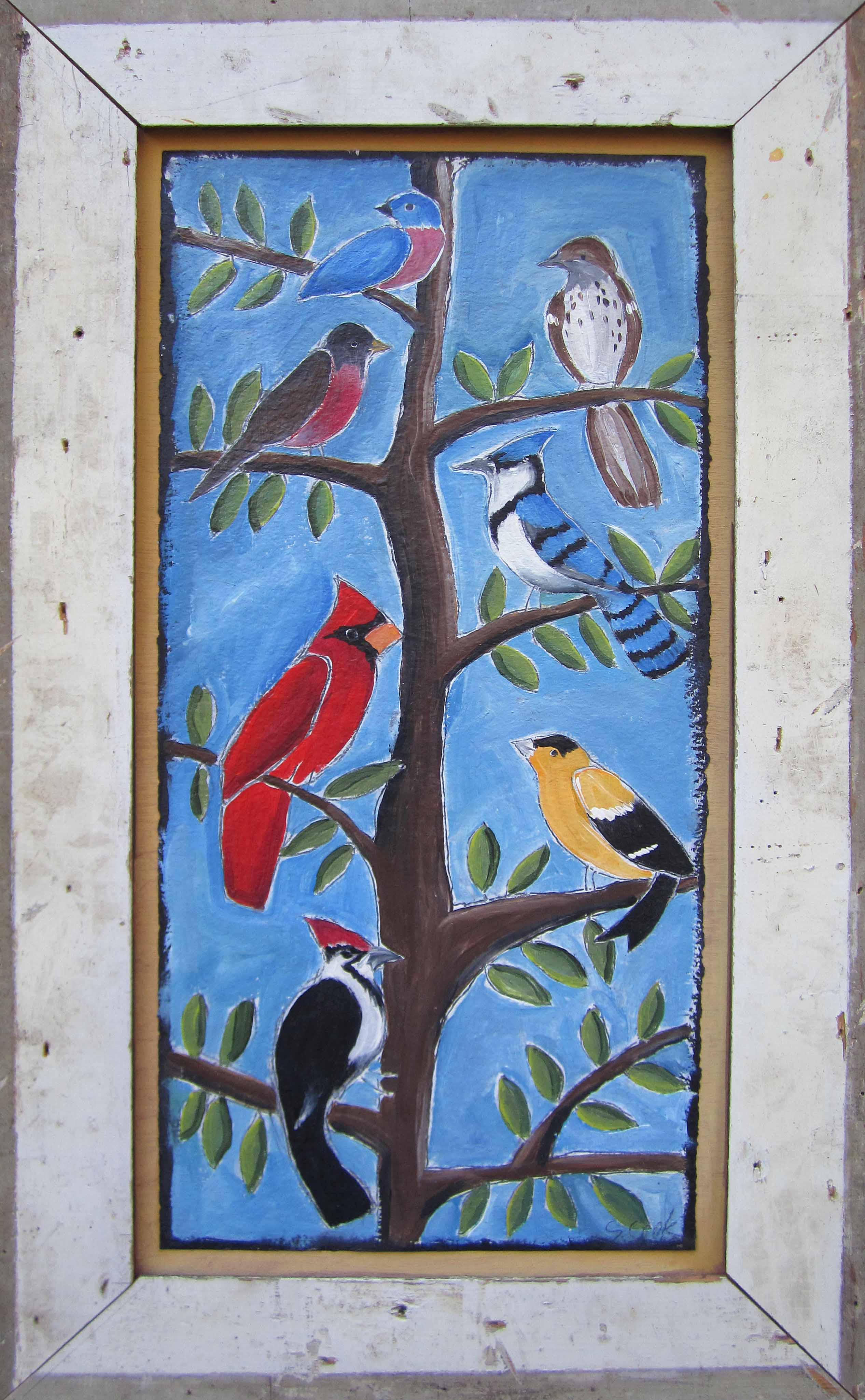 Birds of Different Feathers 44x26