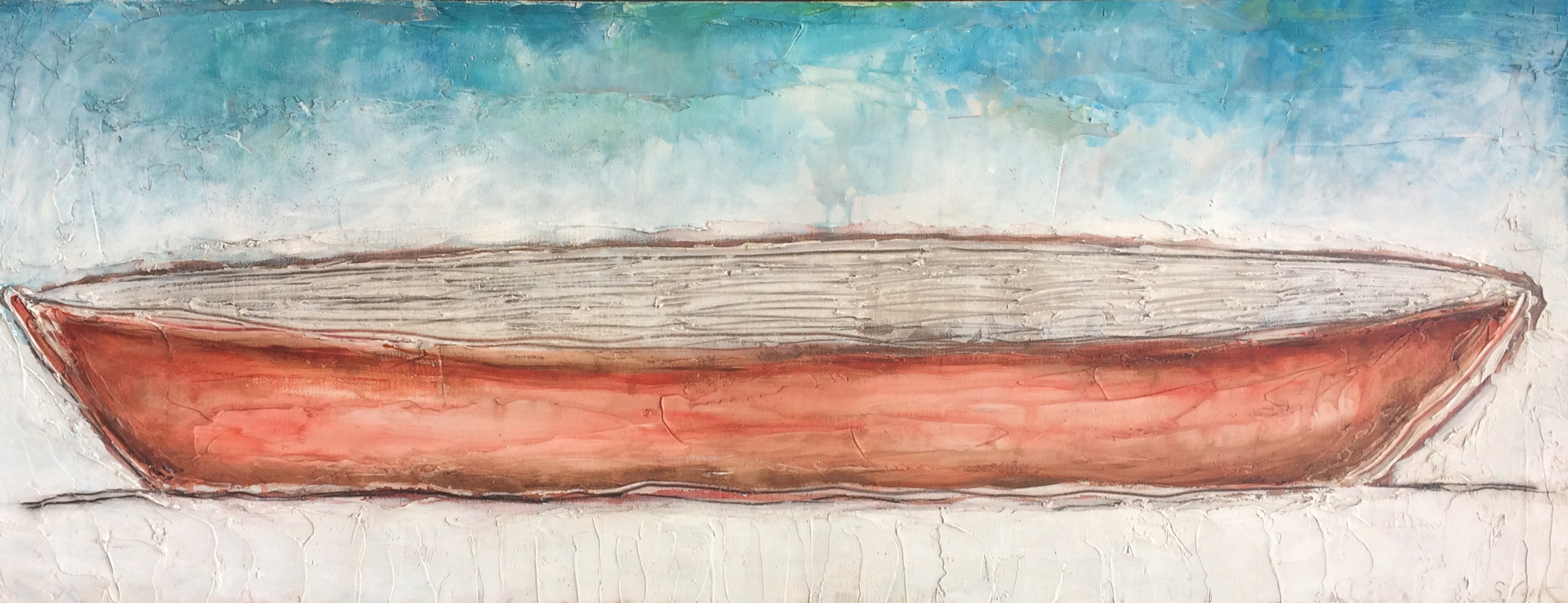 Red Canoe 18x48
