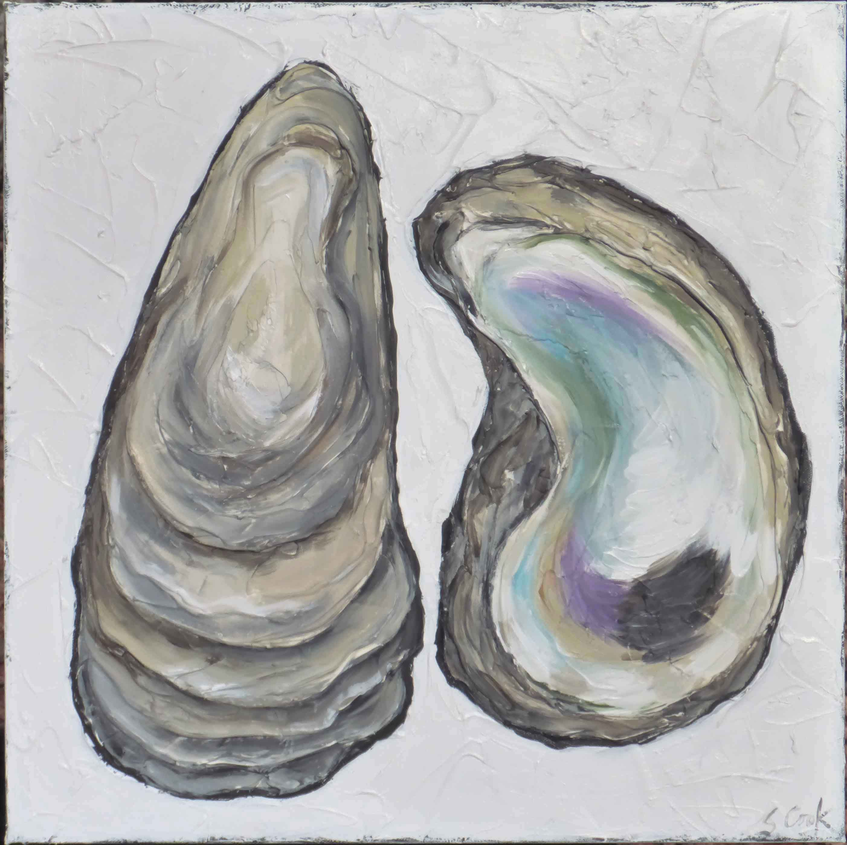 Oysters 20x20