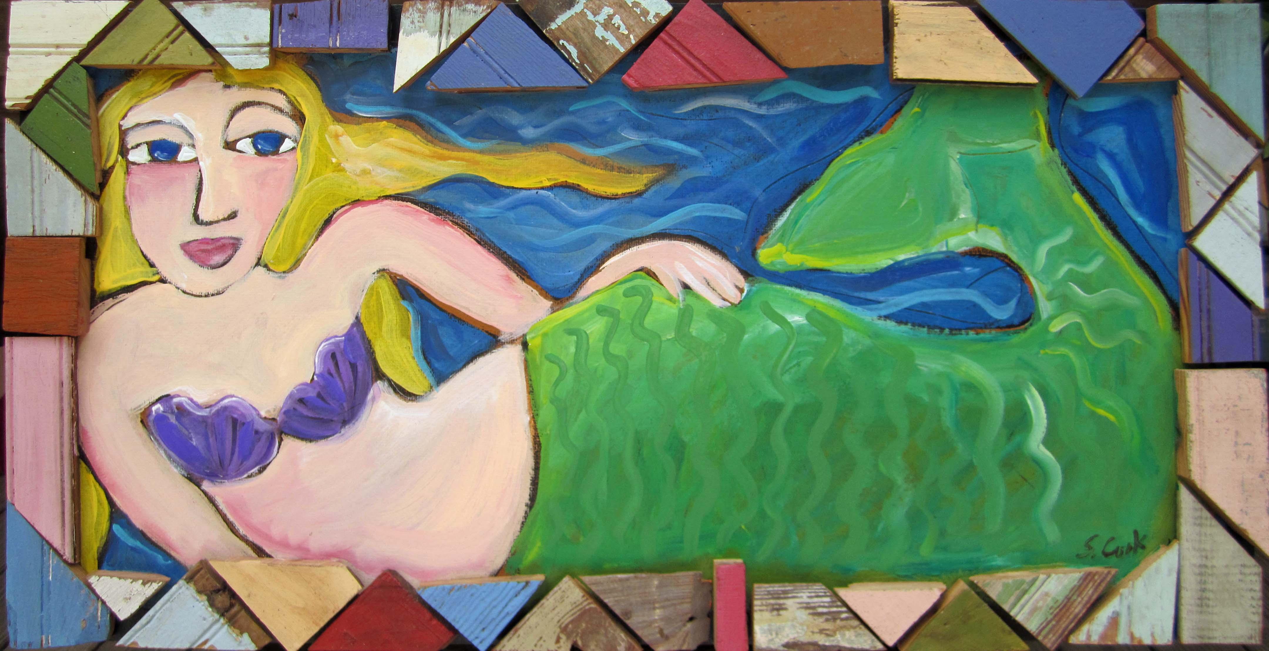 Mermaid 20x36