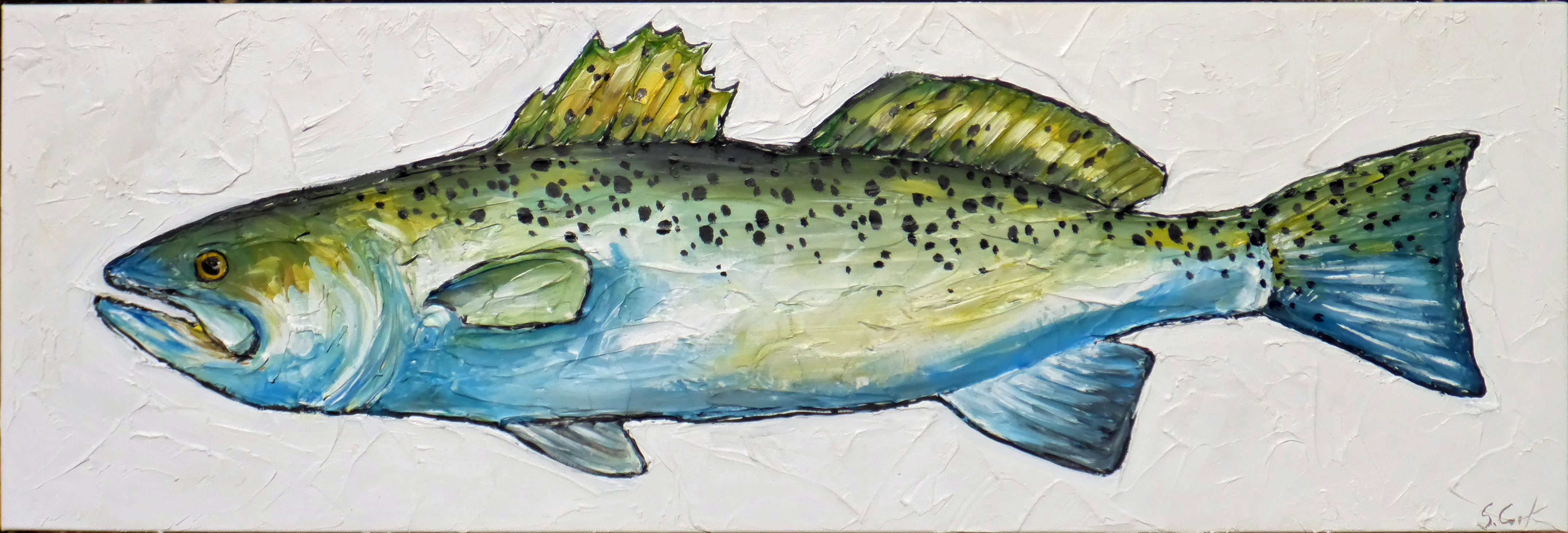 Spotted Trout 12x36