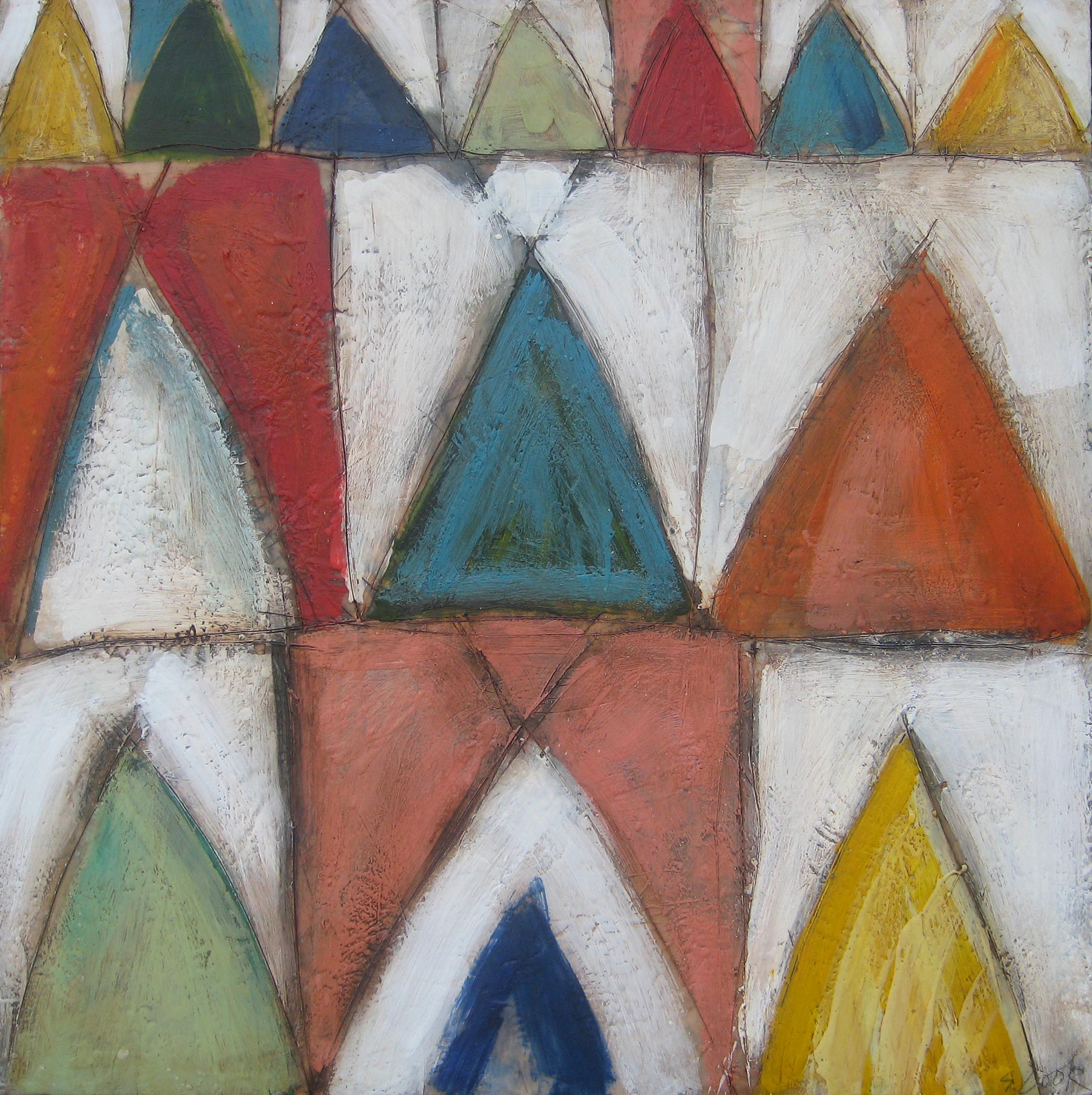 Triangle Dwellings 48x48