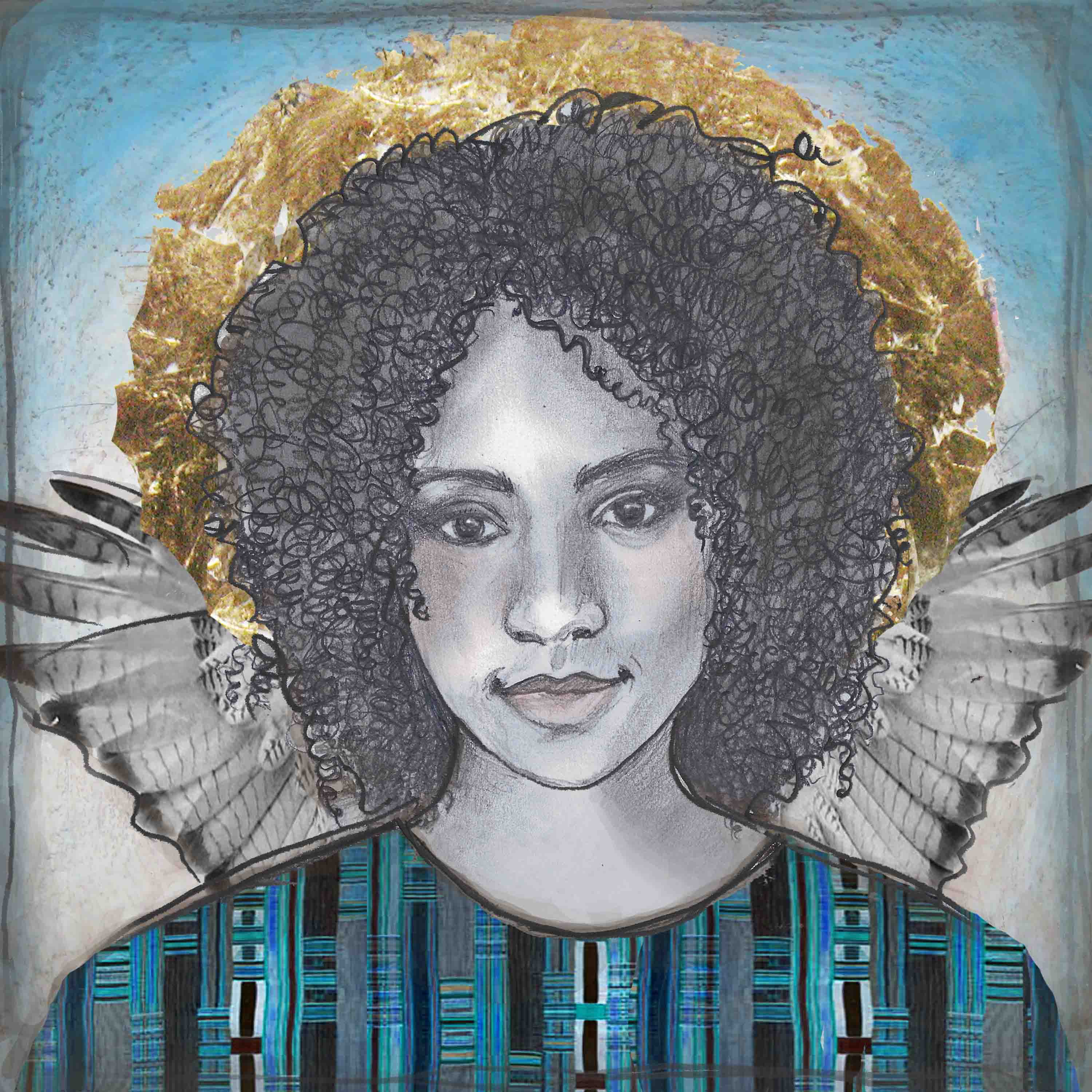Blue African Angel