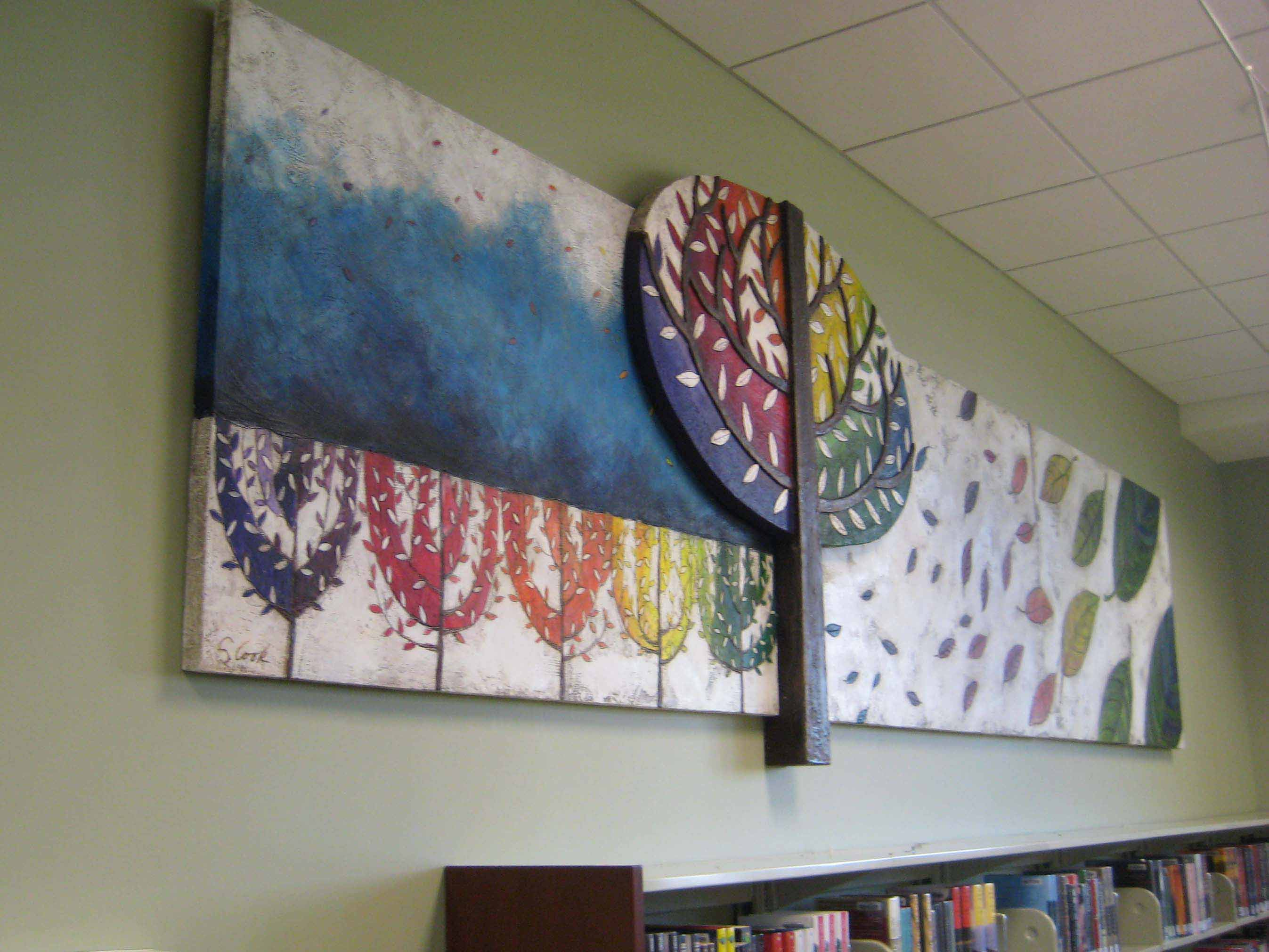 Library Turning Leaves 16'x5'