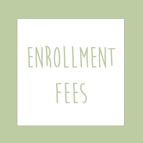 Enrollment Fees