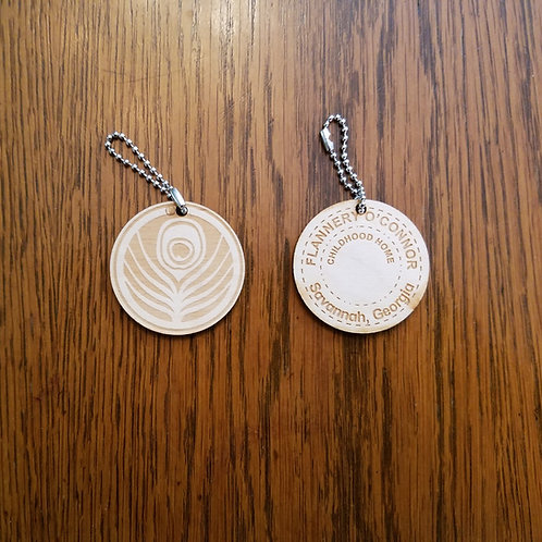 Wood Embosser Keychain
